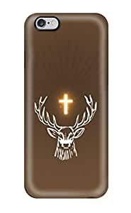 linJUN FENGFor Iphone Case, High Quality Stag Religious For Iphone 6 Plus Cover Cases