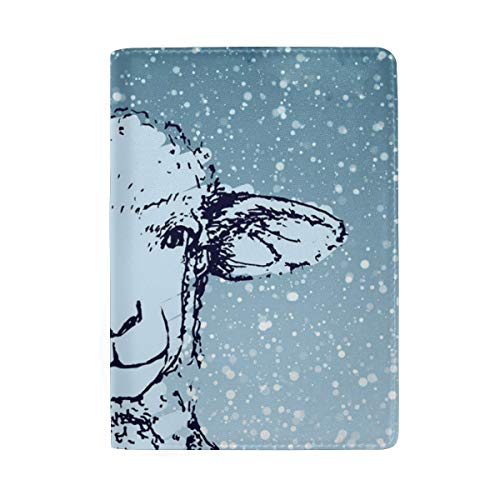 Wolf In Sheeps Clothing Multi-purpose Travel Passport Set With Storage Bag Leather Passport Holder Passport Holder With Passport Holder Travel Wallet ()