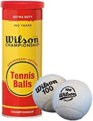Wilson Championship 100 Years Anniversary EditionTennis Balls with Metal Can