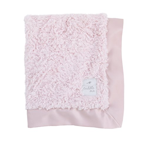 Cuddle Me Luxury Plush Blanket with Matte Satin Border, (Satin Mini Blanket)