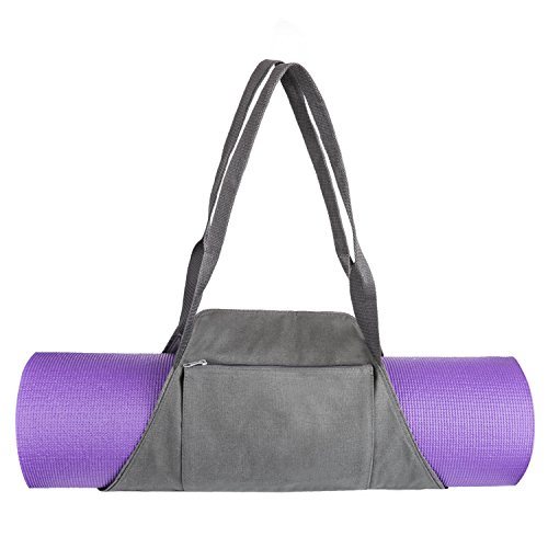 Yoga Bag – VANWALK Yoga Mat Bag Carrier Tote Adjustable to Fit Any Yoga Mat