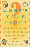 What's Your Type?, Peter Constantine, 0452278023