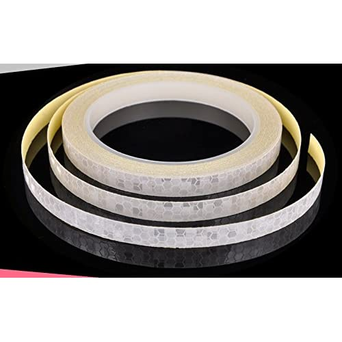 Safety Reflective Warning lighting Sticker Adhesive Tape Roll Strip. For Beautify Bicycle Bike Decoration