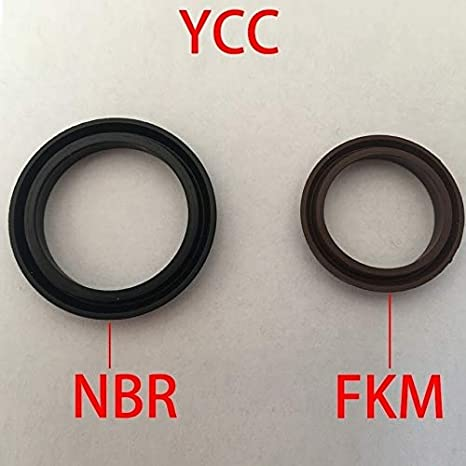 Gimax YCC 1601459.5 160x145x9.5 GP Y-QGP Y Black NBR Brown Viton FKM Rubber Pneumatic Cylinder Piston Rod O Ring Gasket Oil Seal Size: 2Pieces 160x145x9.5, Color: NBR