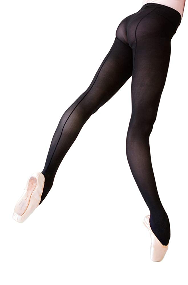 54c46c3486165 Ballet Beautiful Women's Seamed Opaque Dance Tights at Amazon Women's  Clothing store: