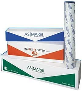 Papel de Rollo Blanca Marri para plotter 360 mmx50 m 90 gr Mate PBJ.90 Marri [06773]: Amazon.es: Oficina y papelería