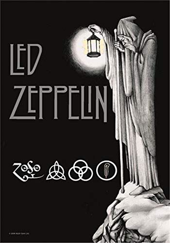 Led Zeppelin Stairway To Heaven Fabric Poster / Flag (hr)