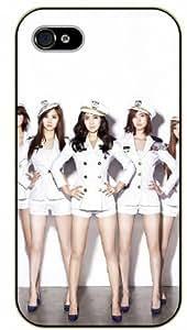 Surelock iPhone 4 / 4s Airline fligh assistants - black plastic case, hot girl, girls