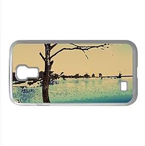 Clinton Lake Frozen Watercolor style Cover Samsung Galaxy S4 I9500 Case (Winter Watercolor style Cover Samsung Galaxy S4 I9500 Case)