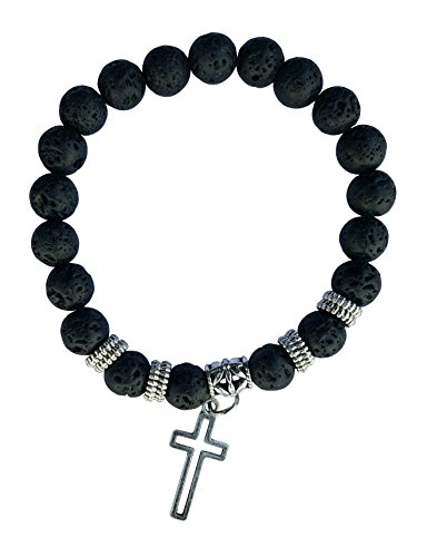 Energy Stone Mala Bracelets - Cross Of J - Tone Accent Beads Shopping Results