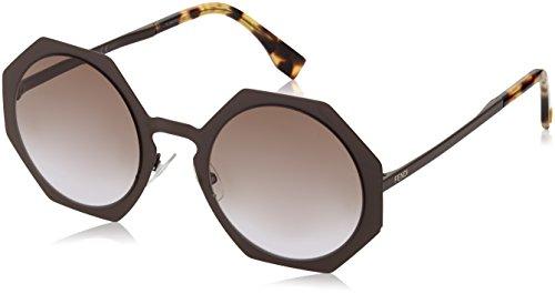 Sunglasses Fendi Ff 152/S 02X3 Semi Matte Brown/LW brown violet (Semi Matte Violet)
