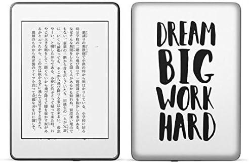 igsticker kindle paperwhite 第4世代 専用スキンシール キンドル ペーパーホワイト タブレット 電子書籍 裏表2枚セット カバー 保護 フィルム ステッカー 016382 英語 英文 モノクロ