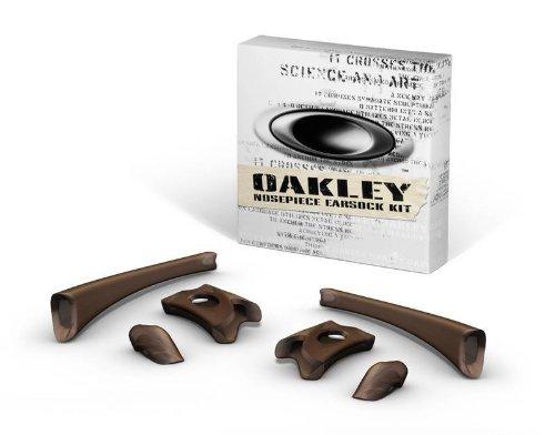 Oakley Flak Jacket Earsock/Nosepiece Kit (Rootbeer) by Oakley