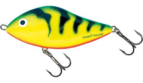Salmo Slider 12 Sinking, Green Tiger ()