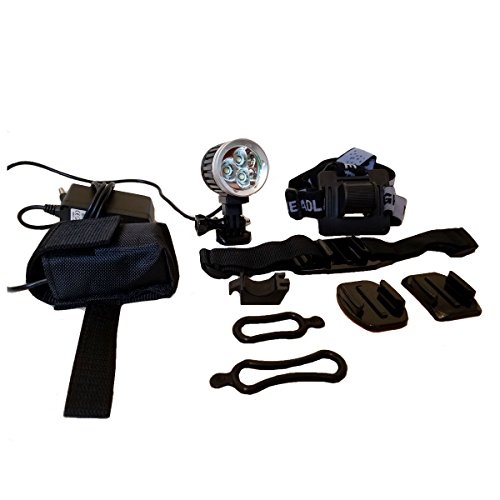 Apache 2400 Helmet Light for Mountain Biking & Dirt Biking | GoPro Mount Compatible