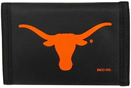 NCAA Texas Longhorns Nylon Trifold Wallet
