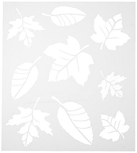 FolkArt 30731 Stencil Leaf Variety Sht (Leaf Fall Outline)