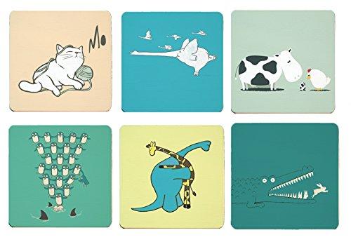 Cimostar Creative Coasters Artistic animals