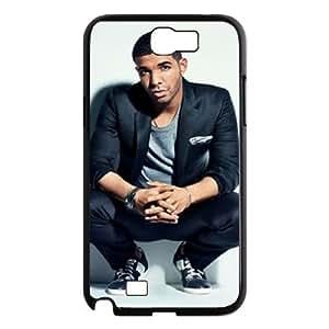 ANCASE Diy Phone Case Drake Pattern Hard Case For Samsung Galaxy Note 2 N7100