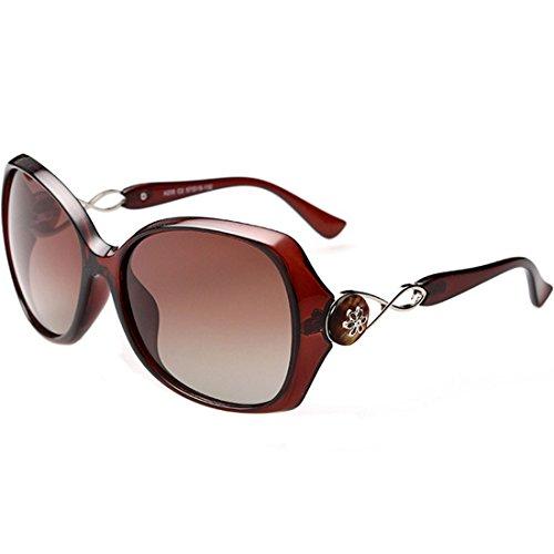 Leben Filles Polarisées Pour Tawny Femmes Uv400 Soleil nbsp;lunettes Designer De px7Opwr