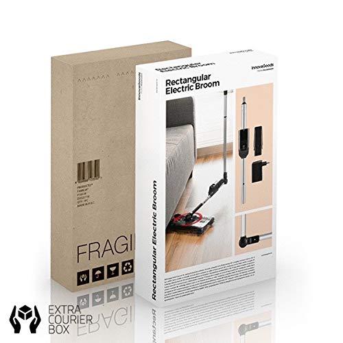 UK 3 pin 360 silencioso Rectangular el/éctrica escoba