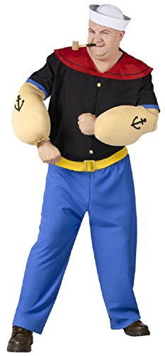 Plus Size Adult Popeye Costume – Adult Superhero Costumes