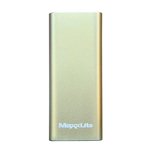 Maxxlite 11000mAh Dual USB Aluminum Casing Power Bank – Green