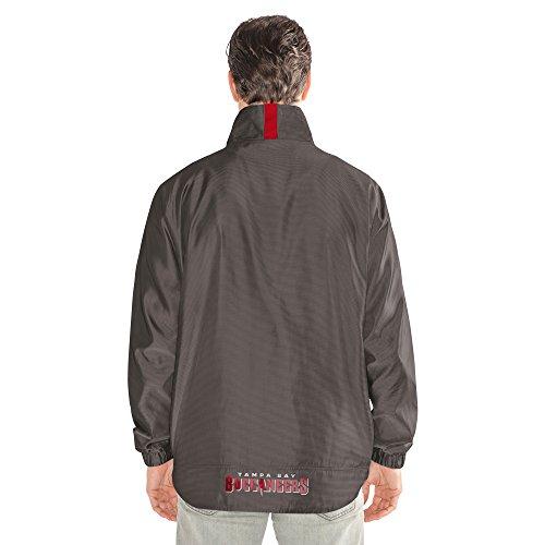 NFL THE Executive Full Zip Jacket, herren, The Executive Full Zip Jacket, dunkelgrau, XX-Large