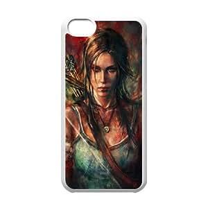 Tomb Raider F9C12C3XT funda iPod Touch 6 caso funda GU07A2 blanco