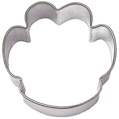 PAW PRINT DOG 2.25 in. cookie cutter B1660 (1, 1 LB) by Dogs OTBP