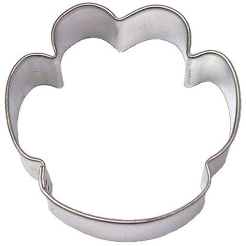 PAW PRINT DOG 2.25 in. cookie cutter B1660 (1, 1 LB) - Paw Cookie Cutter