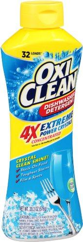 OxiClean Dishwasher Detergent, Fresh Clean, 20.3 Oz