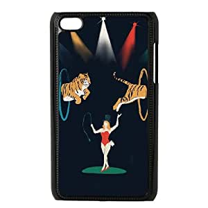 iPod Touch 4 Case Black THE CIRCUS IS IN TOWN SUX_999645