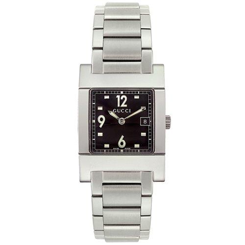 Gucci YA077309 - Reloj de pulsera hombre, acero inoxidable