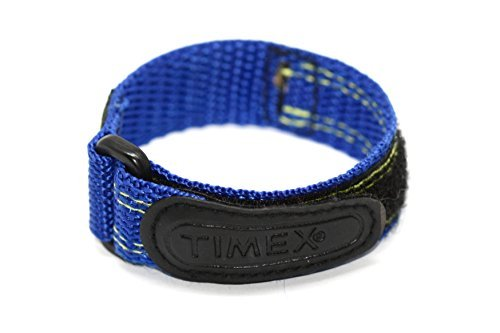 TIMEX 12-16MM BRIGHT BLUE FAST WRAP REPLACEMENT WATCH BAND (Timex Expedition 16mm)