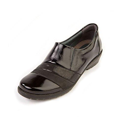 Otra Reptile mujer Suave Piel de Black para cordones de Zapatos wzwqpATI1