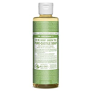 Dr Bronner Organic Green Tea Castile Liquid Soap 2...