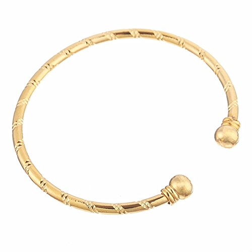 Solid Fancy Link (Moochi Gold Plated Single-Strand Fashion)