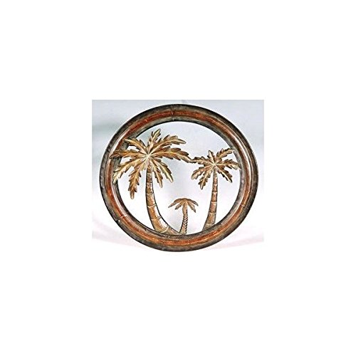 Decorative Metal Palm Tree Plaque product image