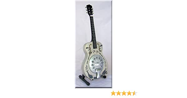 Mark Knopfler Guitarra Miniatura Resonator Dobro Dire Straits ...