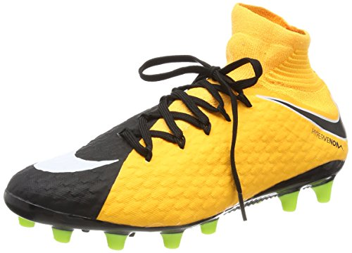 Nike Hypervenom Phatal III Dynamic Fit AG-Pro, Scarpe da Calcio Uomo Arancione (Laser Orange/White-black-volt-white)