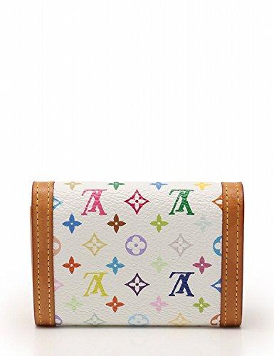 99fd3ec84fa6 Amazon.co.jp: (ルイ・ヴィトン) LOUIS VUITTON ポルトモネ プラ コインケース モノグラムマルチカラー 白 M92657  中古: 服&ファッション小物