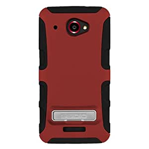 Seidio CSK3HTDDAK-GR DILEX with Metal Kickstand Case for use with HTC DROID DNA - Garnet Red