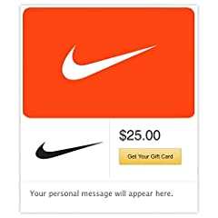 Give a Nike gift card and you're giving limitless potential. Because one gift opens an entire world of footwear, apparel and equipment – loved by fans of sport and style alike.