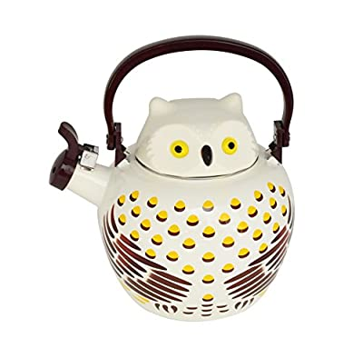 Owl Tea Kettle, 2.1 Quart Whistling Teakettle - by Home-X