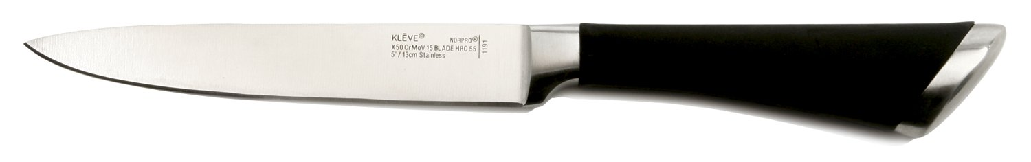 Norpro KLEVE Stainless Steel 5-Inch Utility Knife