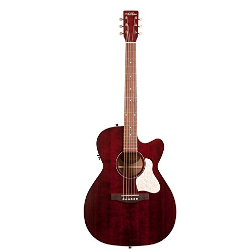 art-lutherie-legacy-cw-qit-acoustic-electric-guitar-tennessee-red