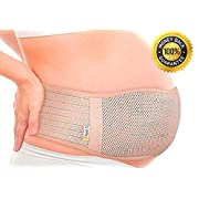 Aspen5 Maternity Soft-Feel Lower Back Support Belt, Breathable Abdominal Binder
