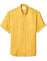 Billy Reid Tuscumbia - Camisa de manga corta para hombre