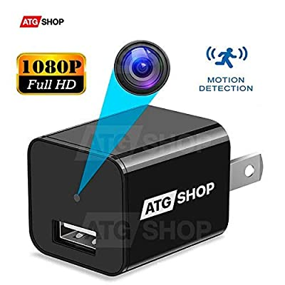 Spy Camera - Hidden Camera - Motion Detection - USB Hidden Camera - Surveillance Camera - Mini spy Camera -USB Camera - Best Spy Camera Charger - Hidden Camera Charger - Security Camera - Nanny Cam from Atgshop